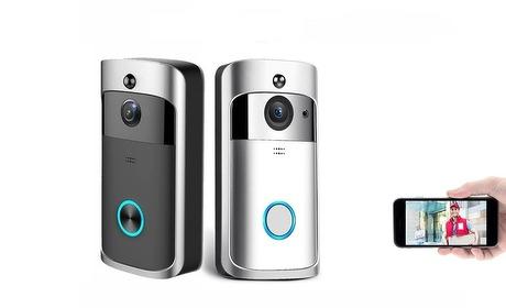 Groupon: Wifi-deurbel met audio