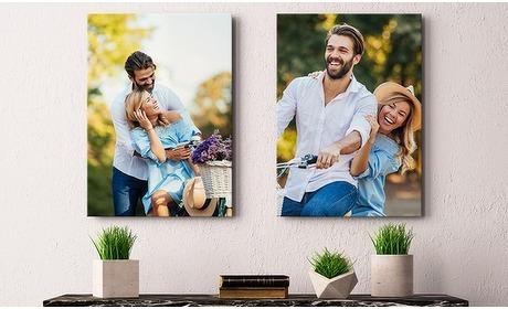 Groupon: Jouw foto op canvas