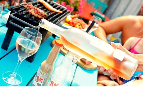 Groupon: Luxe barbecue aan zee (2 p.)