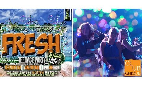 Wowdeal: Entree Fresh Teenage schuimparty