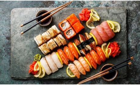 Groupon: Seasons: onbeperkt sushi en grill