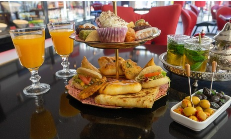 Groupon: Arabische high tea