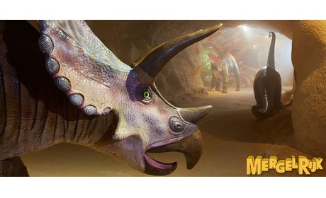 Wowdeal: Entree MergelRijk met Dino adventure en souvenir