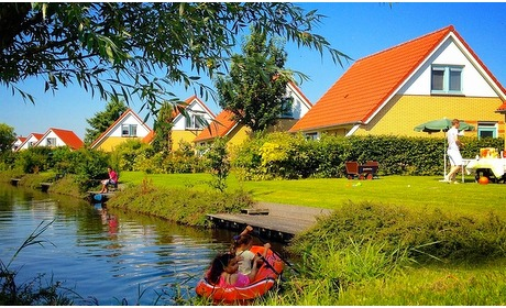 Groupon: Noord-Holland: midweek/weekend in een villa