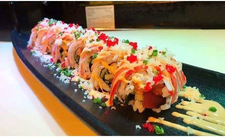 Groupon: Onbeperkt sushi en grill (2 p.)