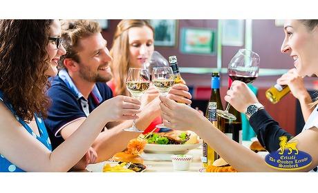 Wowdeal: 3-gangen menu bij eetcafe de Gouden Leeuw