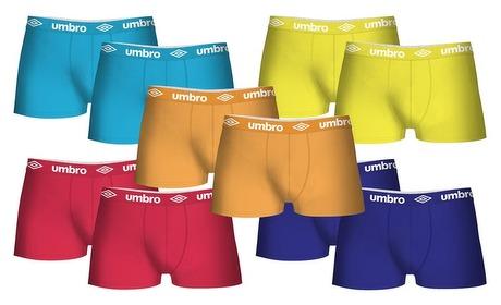 Groupon: Pakket met 10 Umbro-boxers