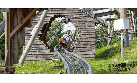 Wowdeal: Toegang Adventure Valley (naast SnowWorld) incl.  5-ritten Alpine Coaster