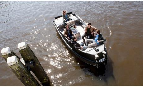 Groupon: Amsterdam: sloep huren