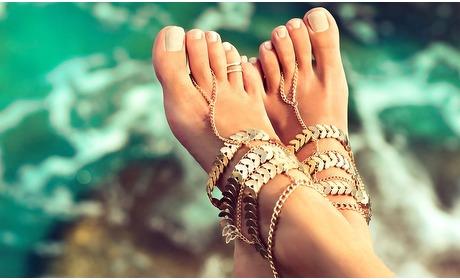 Groupon: Spa manicure of Spa pedicure