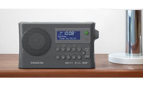 Wowdeal: SANGEAN DPR-16  Draagbare DAB+ radio met FM en wekker