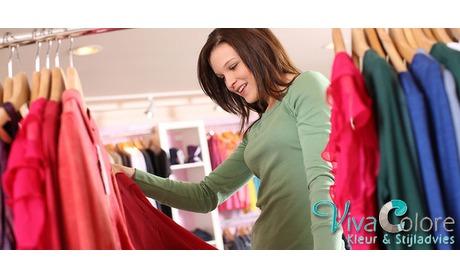 Wowdeal: Kleuradvies kleding, lunch & make-up workshop bij Viva Colore