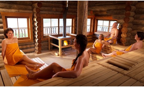 Groupon: Sauna-entree incl. koffie/thee