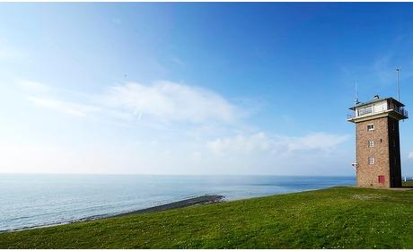 Groupon: Panorama op zee: 1-3 nachten in een oude kustwachttoren