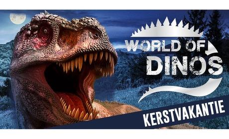 Groupon: Entree expositie World of Dinos