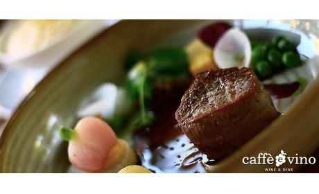 Wowdeal: Openingsknaller: lunch of diner bij Caffe e Vino wine & dine