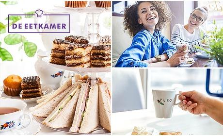 Social Deal: High tea (2,5 uur) bij De Eetkamer Hoensbroek