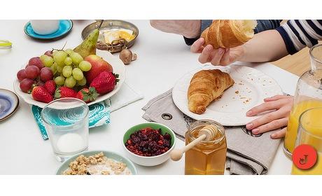 Wowdeal: Een heerlijk en luxe ontbijt voor 2 personen bij Ome Jeu