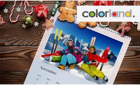 Groupon: Fotokalender op A4-formaat