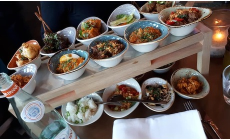 Groupon: Ron Gastrobar: lunch-rijsttafel