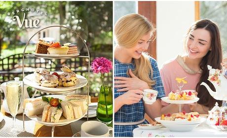 Social Deal: 2-gangen high tea bij Brasserie Vue