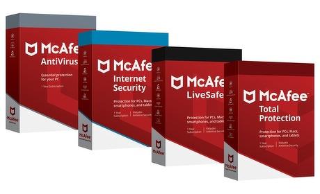 Groupon: McAfee Antivirus-pakketten