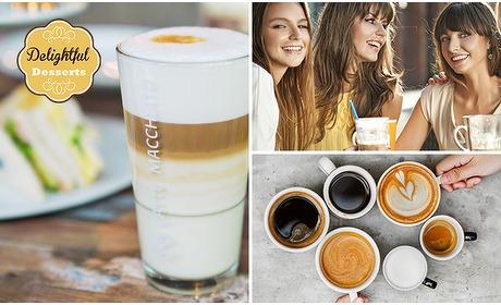 Social Deal: Strippenkaart voor 10 warme dranken bij Delightful Desserts