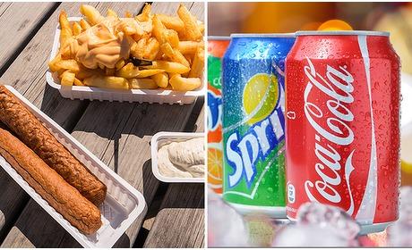 Social Deal: 2x friet + 2x snack + 2x drankje in hartje Eindhoven