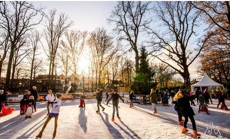 Groupon: Schaatsen bij Winter Village