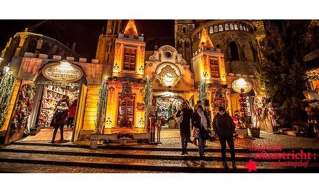 Wowdeal: Winterdrank, vlaai en attracties bij Magisch Maastricht