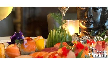 Wowdeal: Sushi Sharing bij Brasserie De Hompesche Molen