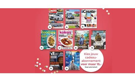 Wowdeal: Geef een magazine cadeau