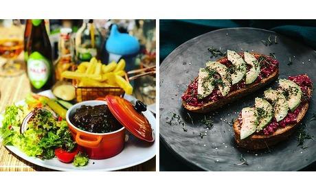 Wowdeal: 4-gangen keuzemenu bij Brasserie VIOS