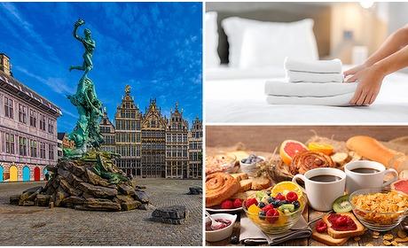 Social Deal: Overnachting voor 2 pers. + ontbijt in hartje Antwerpen