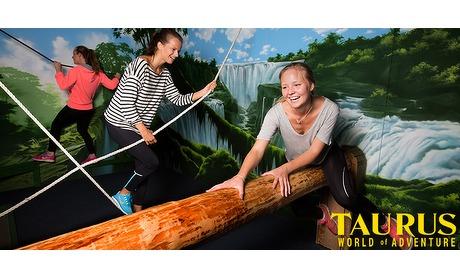 Wowdeal: 90 minuten Prison Island en 3 arcade dollars bij Taurus