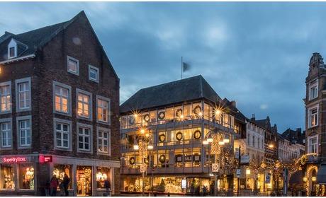Groupon: Centrum Maastricht: 2- of 4-persoonskamer met welkomstdrankje