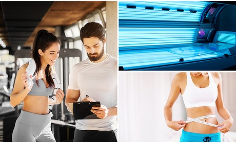 Social Deal: 1 maand onbeperkt sporten + better belly + zonnebank