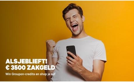Groupon: Win 3,500 euro in Groupon-credits