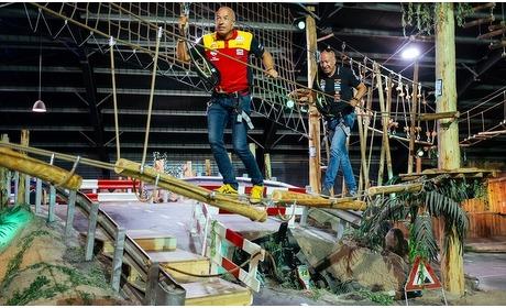 Groupon: Klimmen in een indoor klimbos