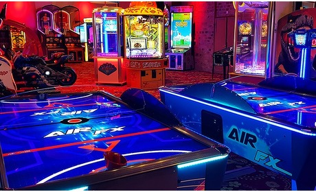 Groupon: Speeltegoed arcadehal Sir Winston