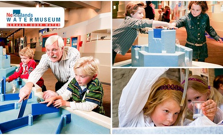 Social Deal: Entree tot het Nederlands Watermuseum