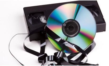 Social Deal: Videoband omzetten naar dvd bij Foto Tuerlings