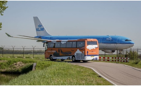 Groupon: Ticket voor Schiphol Experience
