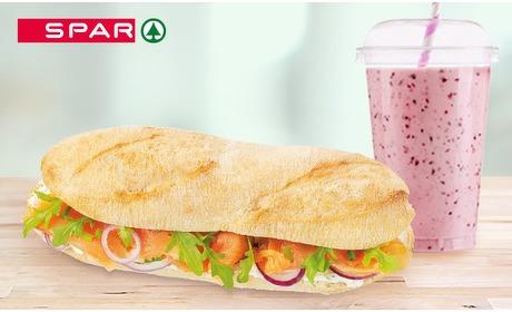Social Deal: Broodje + smoothie bij Spar Arnhem