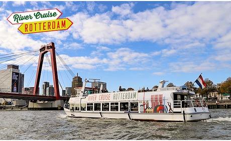 Social Deal: Rondvaart met gids door Rotterdam