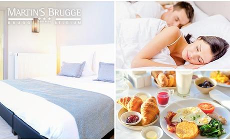Social Deal: Overnachting(en) + ontbijt voor 2 in hartje Brugge