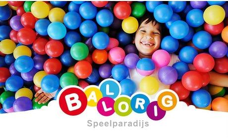 Groupon: Entree indoorspeeltuin Ballorig