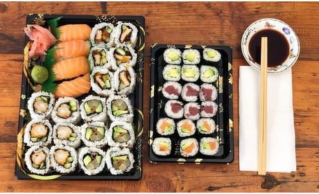 Groupon: Kinkerstraat: sushibox afhalen