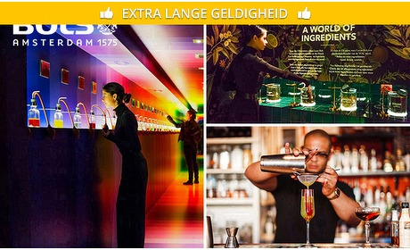 Social Deal: Cocktail & Genever Experience + cocktail naar keuze