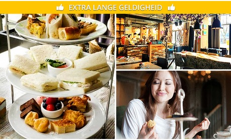 Social Deal: High tea bij Brasserie Bloem